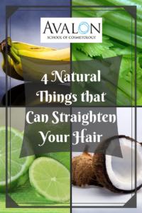 4 Natural Ways to Straighten Hair
