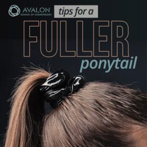 Tips for a Fuller Ponytail