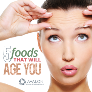 5 Foods that will age you