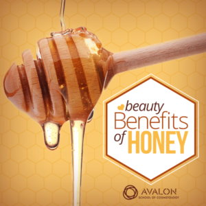 Beauty benefit of Honey