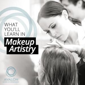 What you'll learn in makeup artistry school in Alameda California