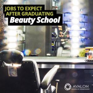 List of jobs available after graduating beauty school in Utah, Arizona, California