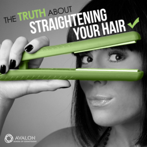 truth about straightening hair