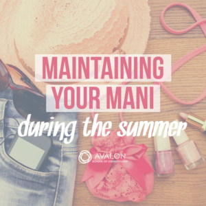 How to keep manicure from fading in the summer
