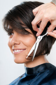 Short hair style for women from Avalon School of Cosmetology