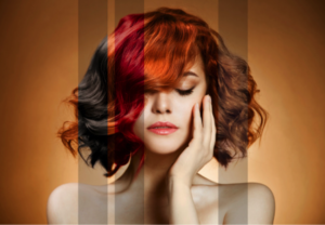 Hair Color from the salon at Avalon School of Cosmetology