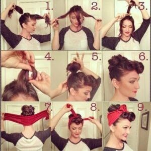 Vintage Hair Tutorial