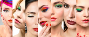 makeup trend swatches