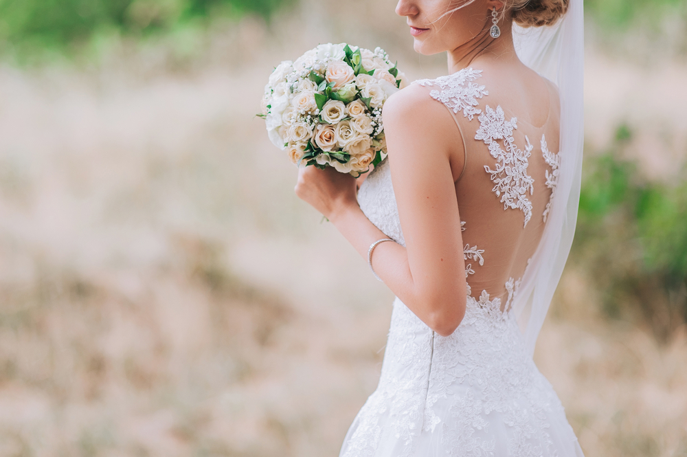 beautiful summer bride