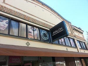 Avalon School of Cosmetology Sign