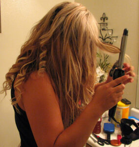 Curling Hair Extensions