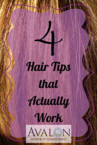 4 Hair Tips that actually work