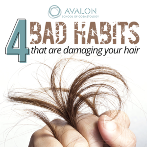 4 Bad Habits that are damaging your hair