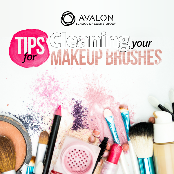 Cleaning Makeup Brushes Avalon Institute