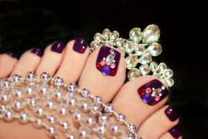 Pedicure best colors from Avalon's Salon and Spa services