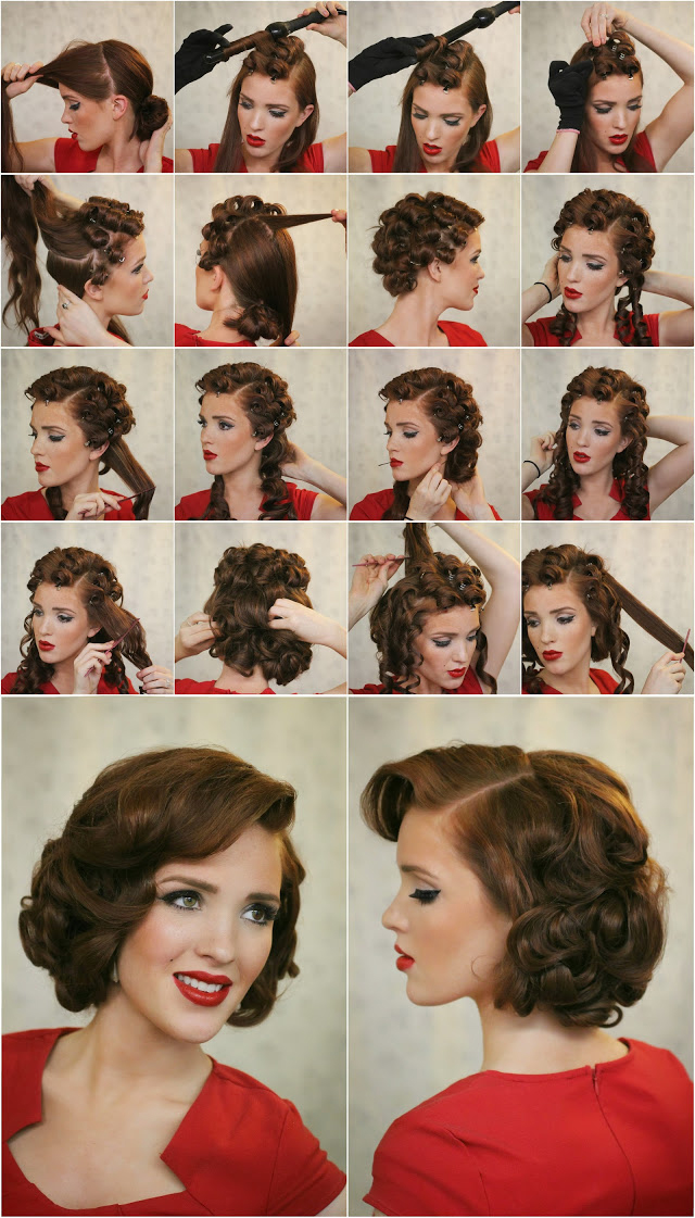vintage-short-hairstyle